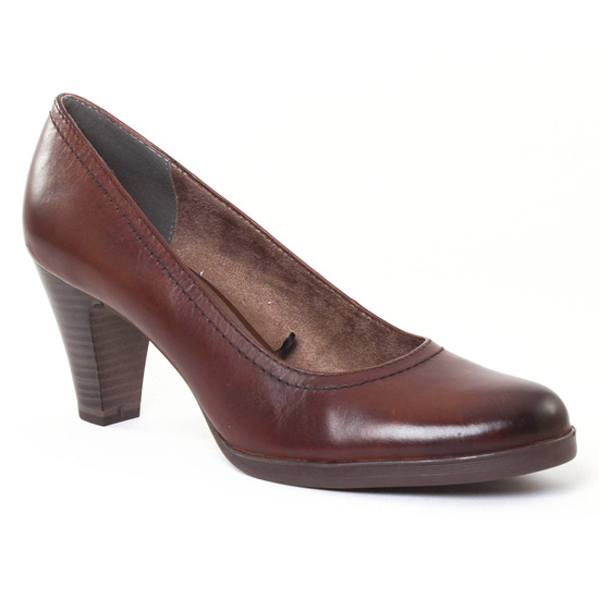 Escarpins Tamaris 22471 Mocca, vue principale de la chaussure femme