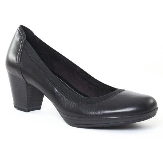 Escarpins Marco Tozzi 22418 Black Comb, vue principale de la chaussure femme