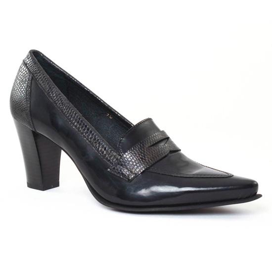 Escarpins Scarlatine Fantome Polido Noir, vue principale de la chaussure femme