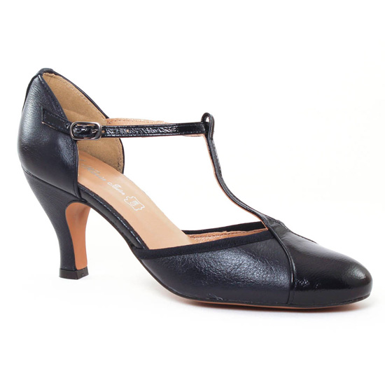 Escarpins Maria Jaen 3664N Marine, vue principale de la chaussure femme
