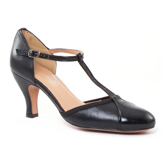 Escarpins Maria Jaen 3664N Negro, vue principale de la chaussure femme