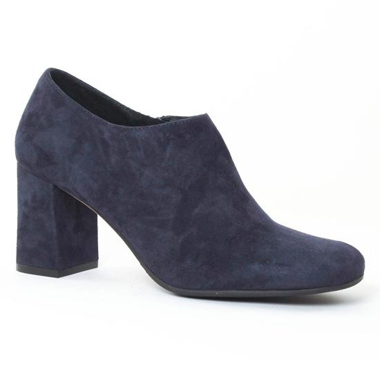Bottines Et Boots Bprivate 1202 Bleu, vue principale de la chaussure femme