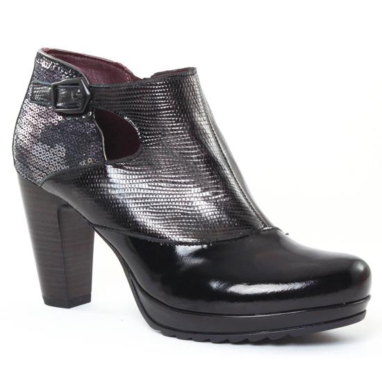 Jose hiver chez Noirlow boots automne vernis Saenz noir 7033 cT1FJlK