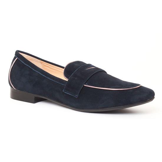 Mocassins Jb Martin Unka Nuit, vue principale de la chaussure femme