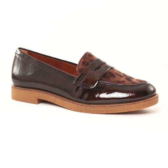 Mocassins Tamaris 24205 Mocca, vue principale de la chaussure femme