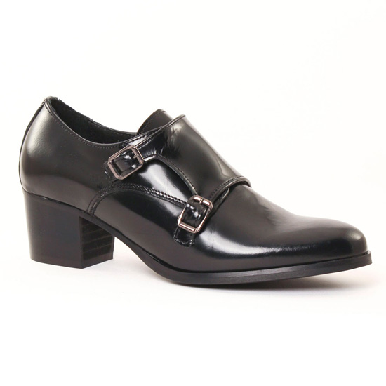 Mocassins Scarlatine 6651 Noir, vue principale de la chaussure femme