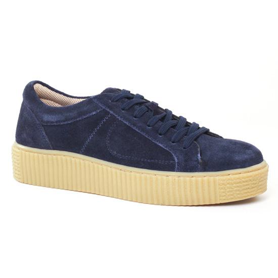 Tennis Et Baskets Mode Cafe Moda 2708001 Bleu, vue principale de la chaussure femme