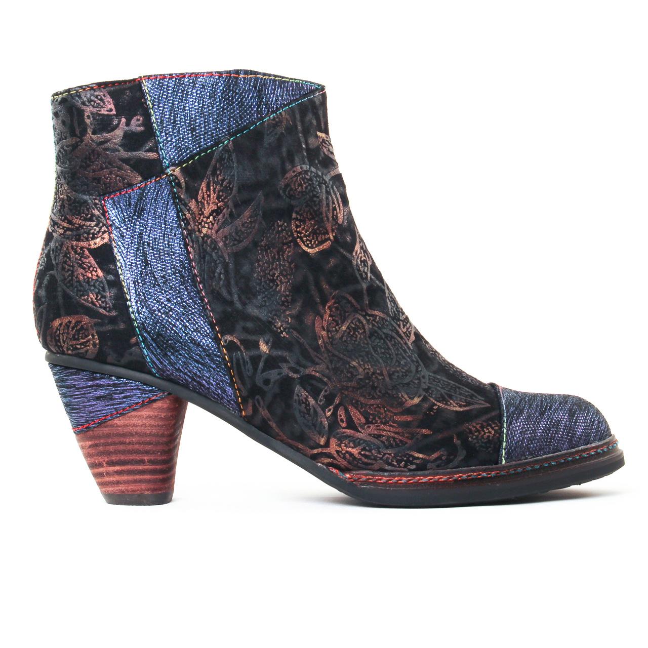 3dede280ce4 Laura Vita Alizee Bleu. ◅ Retour - Chaussures femmes ...