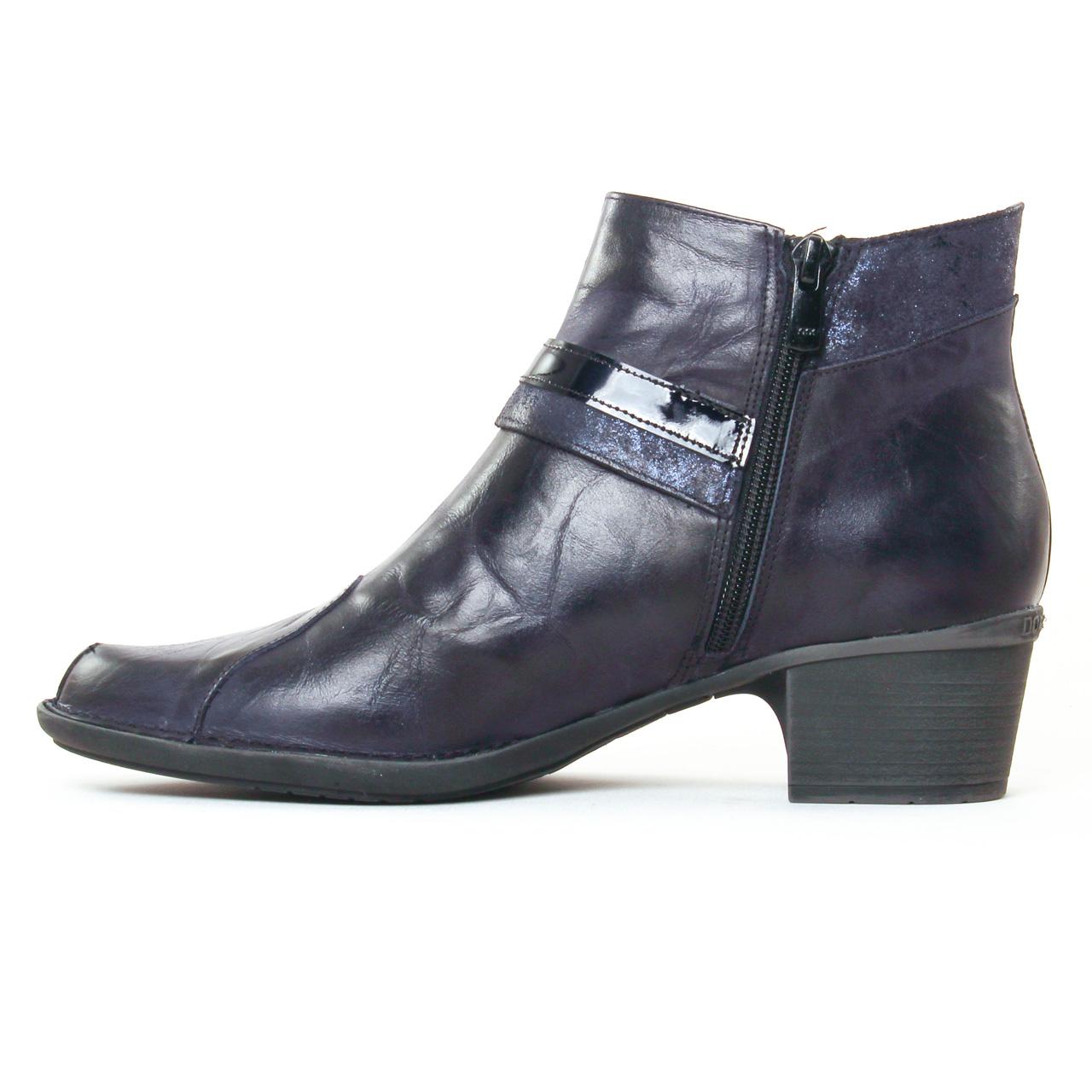 dorking dalma 7370 river boots bleu marine automne hiver. Black Bedroom Furniture Sets. Home Design Ideas