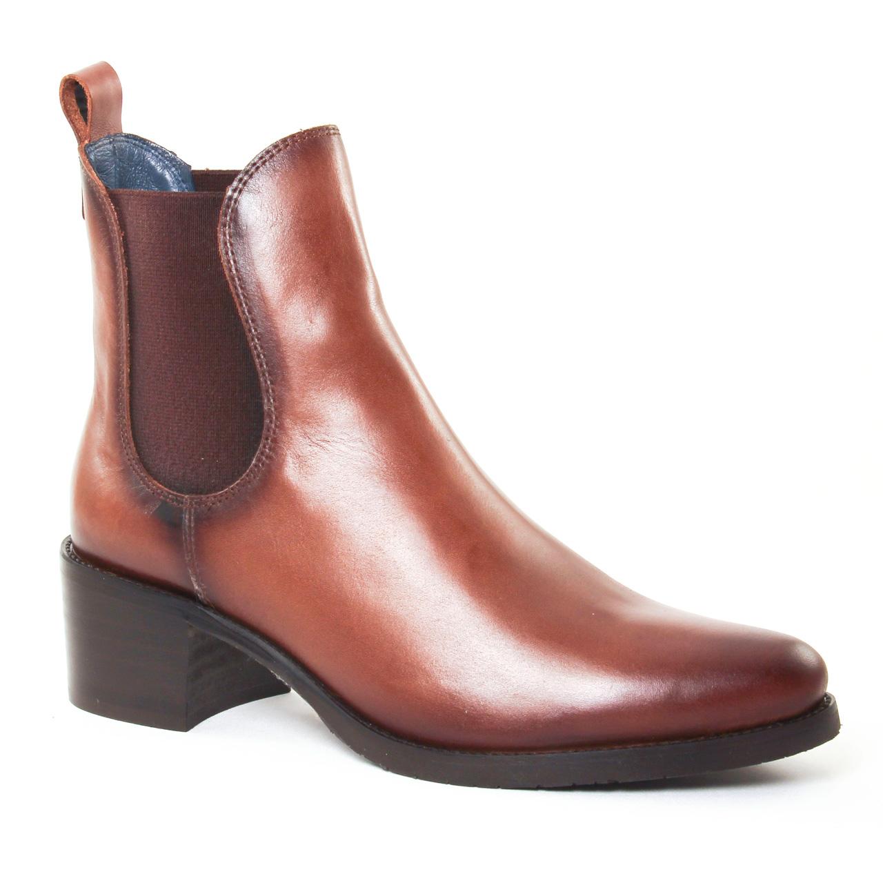 Pintodiblu 79260 Cognac | boot élastiquées marron automne