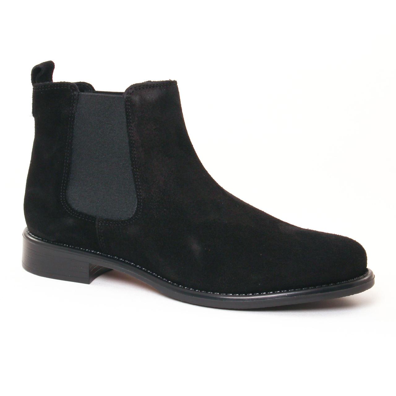 scarlatine 77545 k noir | boot élastiquées noir automne hiver 2017