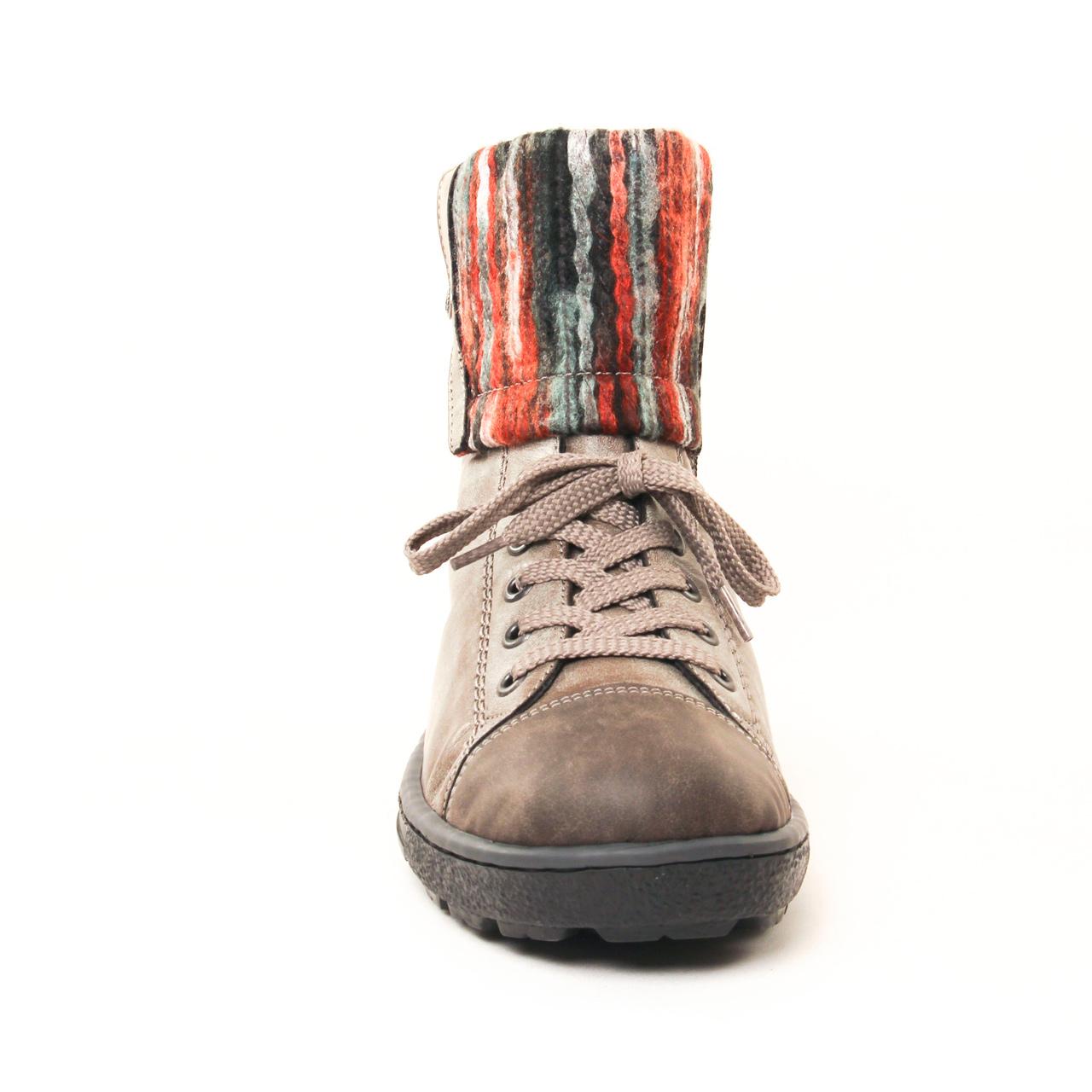 Rieker Z8753 Gris | boot fourrées gris automne hiver chez