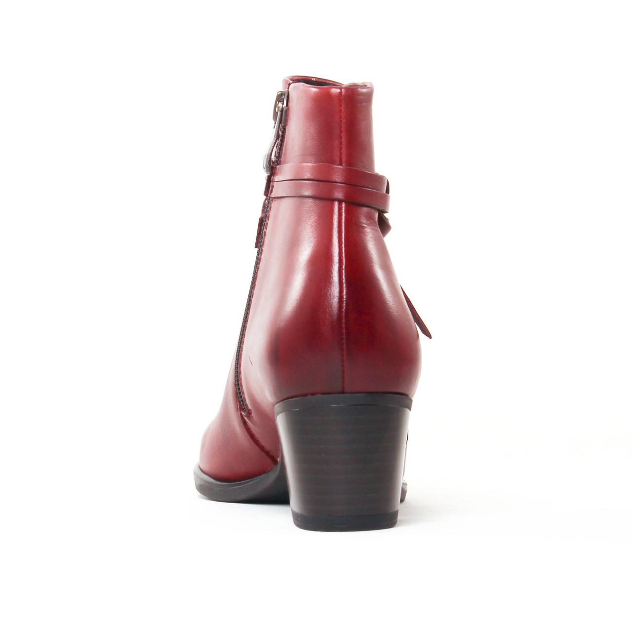 7440633884a151 Caprice 25359 Bordeaux | boot Jodhpur bordeaux automne hiver chez ...