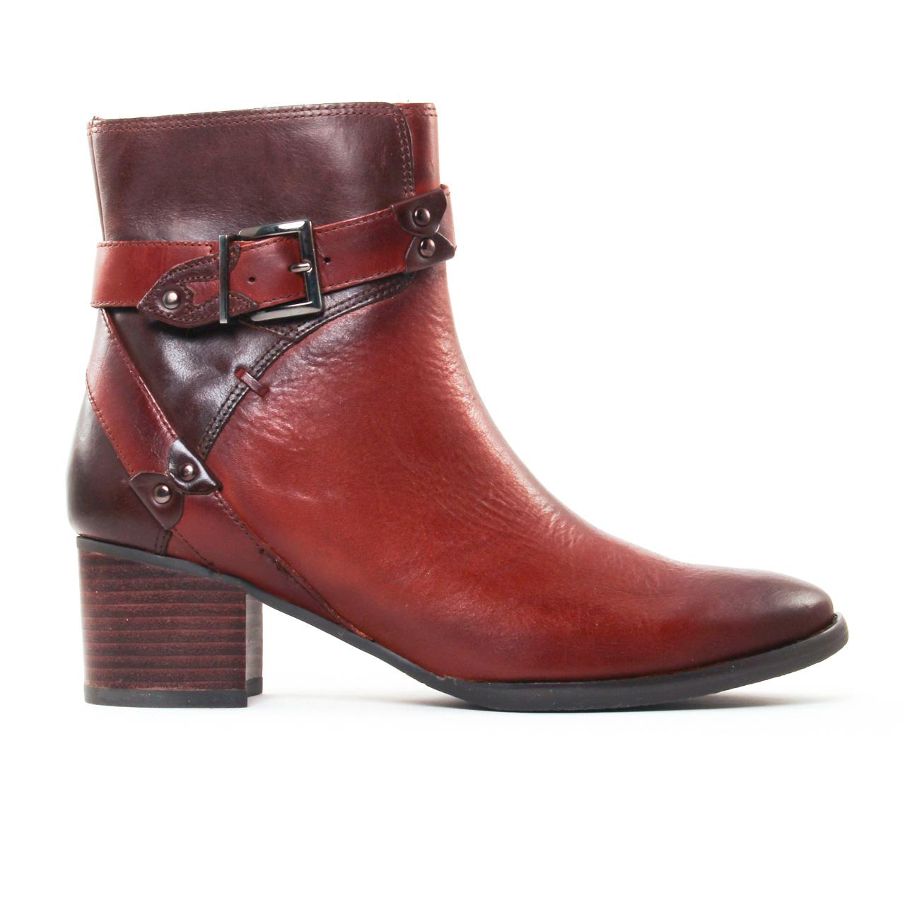 mamzelle igny box gold moka | boots marron automne hiver 2017 chez