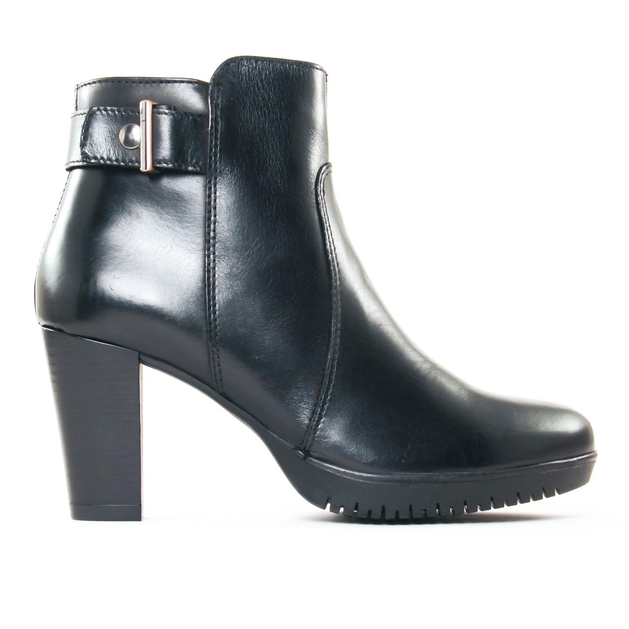 tamaris 25051 black boot talon noir automne hiver chez. Black Bedroom Furniture Sets. Home Design Ideas