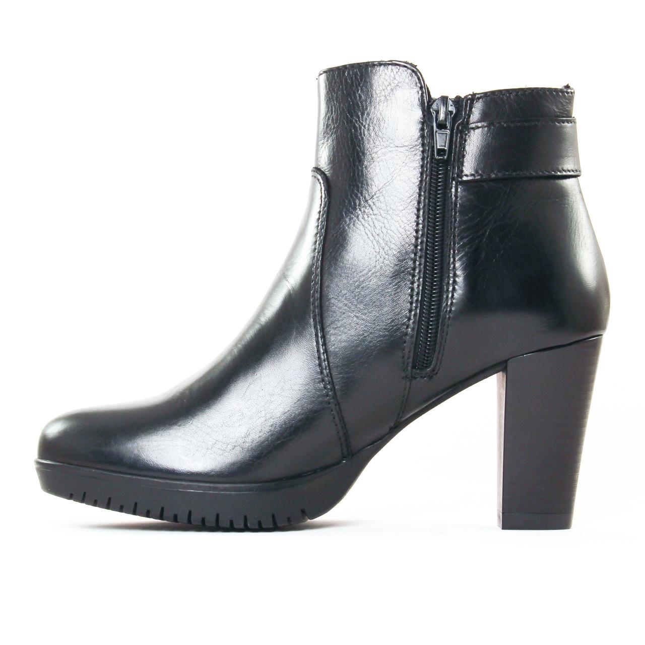 tamaris 25051 black | boot talon noir automne hiver 2017 chez
