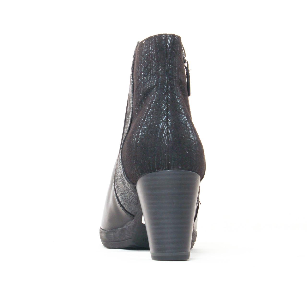 tamaris 25380 black | boot talon noir automne hiver 2017 chez