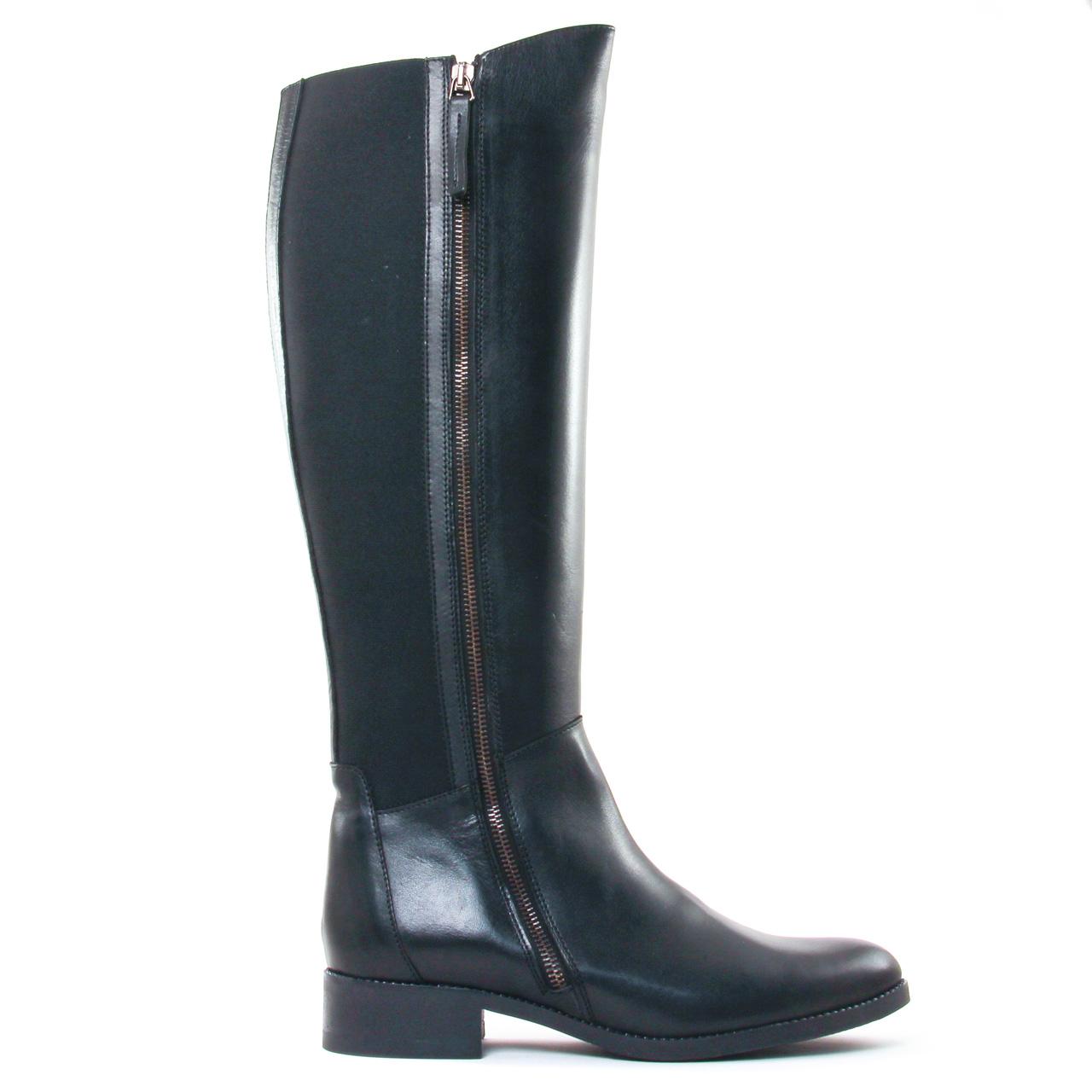 f33484ebb95672 Scarlatine 7310 Noir | botte cavalières noir automne hiver chez ...