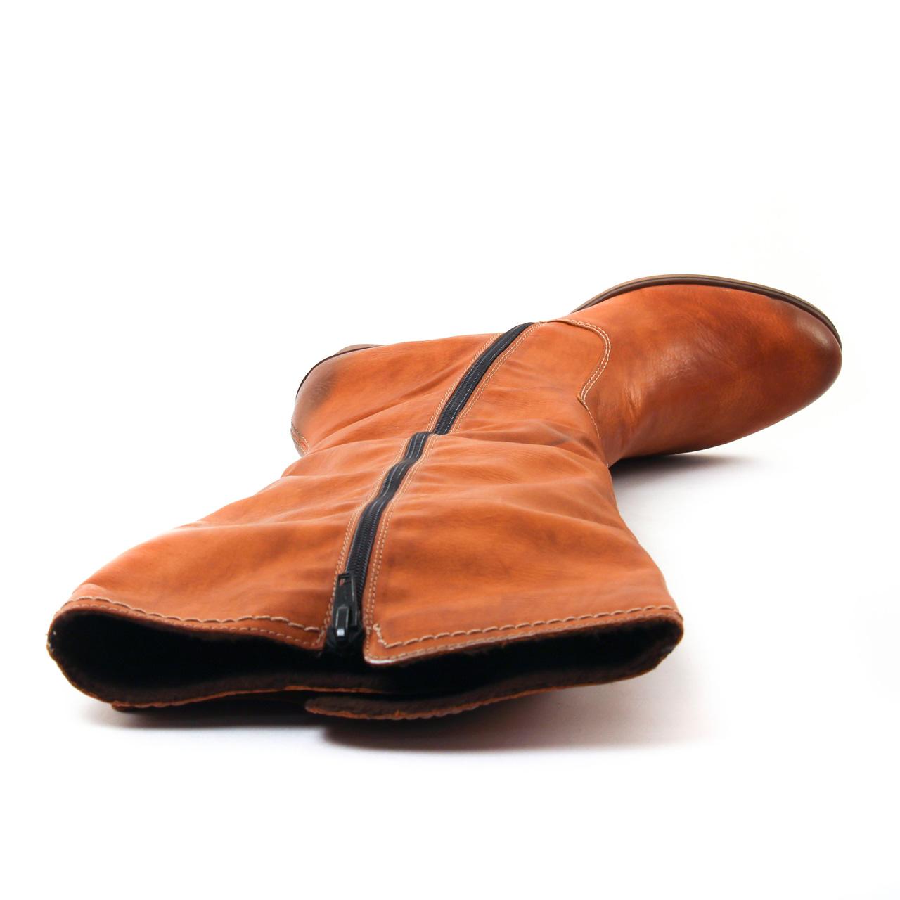 Rieker Y8980 Camel | bottes marron automne hiver chez TROIS