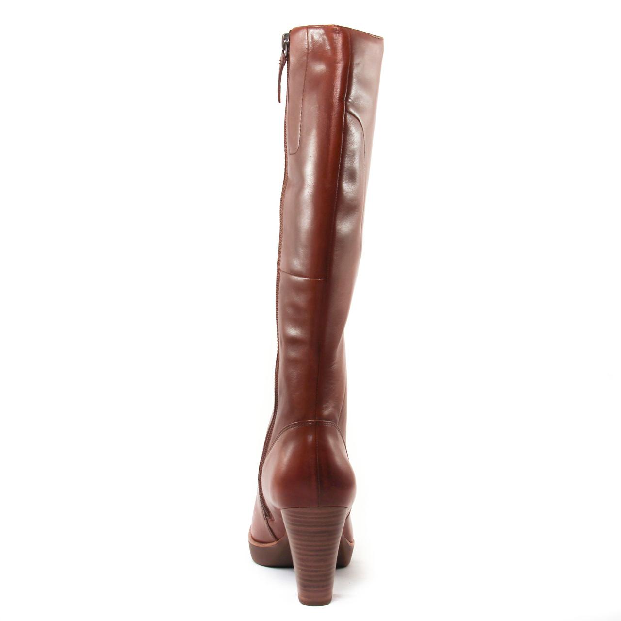 Tamaris 25524 Nut | bottes marron automne hiver chez TROIS PAR 3