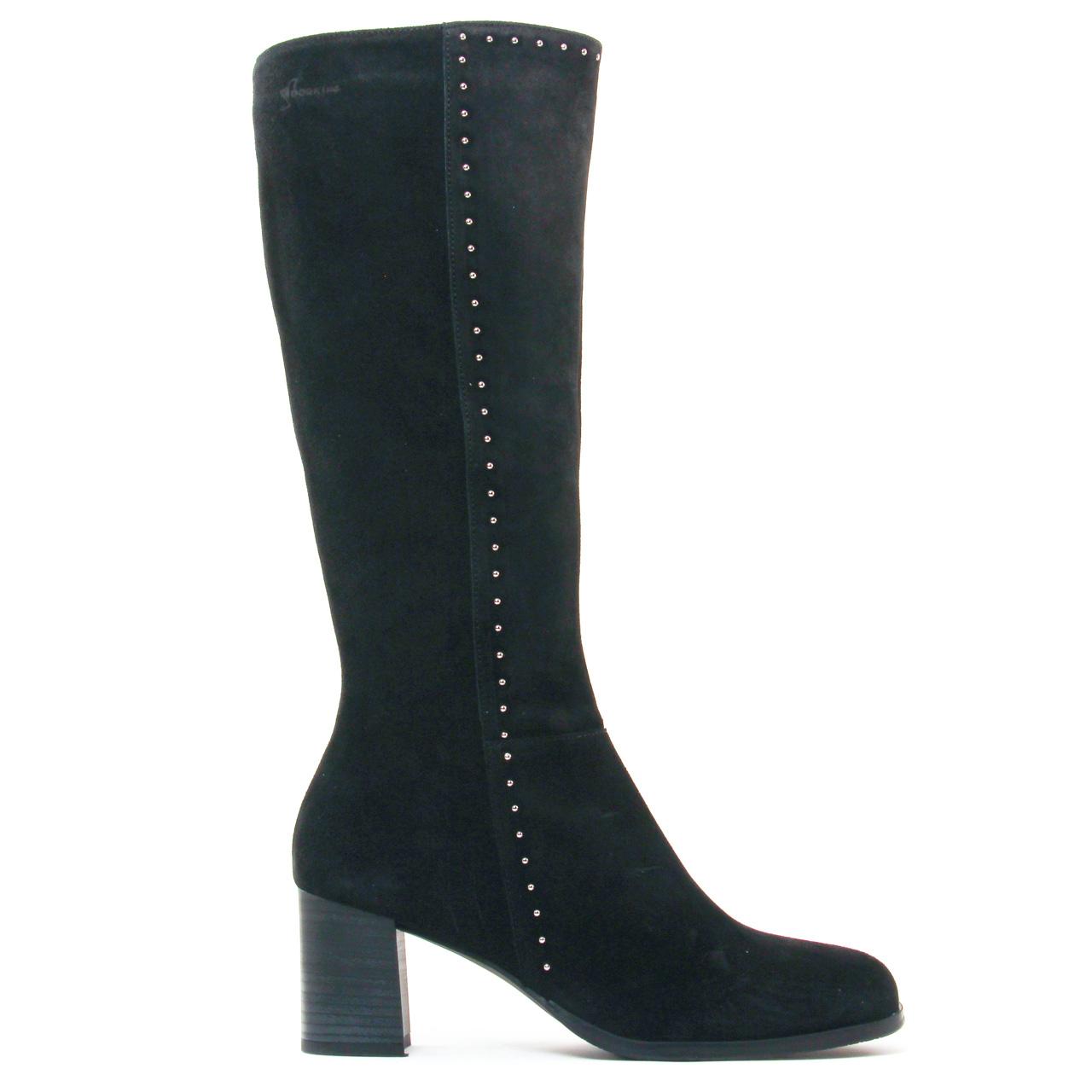 dorking belle 7297 noir bottes noir automne hiver chez trois par 3. Black Bedroom Furniture Sets. Home Design Ideas