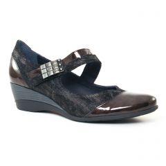 trotteurs-babies noir marron: même style de chaussures en ligne pour femmes que les Scarlatine