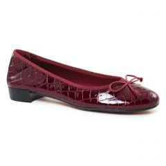 ballerines bordeaux: même style de chaussures en ligne pour femmes que les Tamaris
