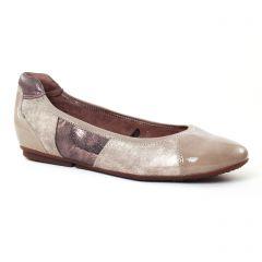 ballerines-confort beige taupe: même style de chaussures en ligne pour femmes que les Mamzelle
