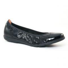 ballerines-confort noir: même style de chaussures en ligne pour femmes que les Tamaris