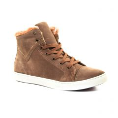 baskets-fourrees beige: même style de chaussures en ligne pour femmes que les Buffalo