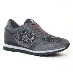 baskets-mode gris noir argent: même style de chaussures en ligne pour femmes que les Mtng
