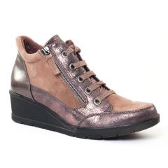 baskets-mode marron doré: même style de chaussures en ligne pour femmes que les Mtng