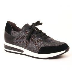 baskets-mode noir argent: même style de chaussures en ligne pour femmes que les Mamzelle