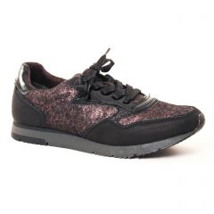 baskets-mode noir doré: même style de chaussures en ligne pour femmes que les Buffalo