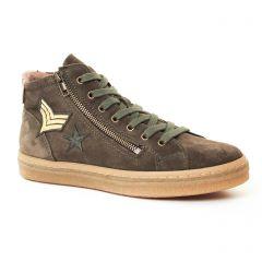 baskets-mode vert: même style de chaussures en ligne pour femmes que les Rieker