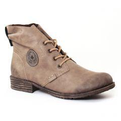 boots beige: même style de chaussures en ligne pour femmes que les Rieker