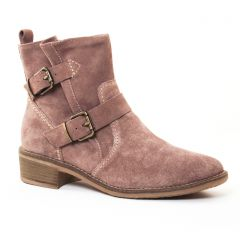 Chaussures femme hiver 2017 - boots tamaris beige taupe