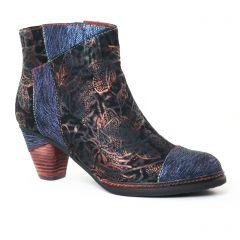 Chaussures femme hiver 2017 - boots Laura Vita bleu