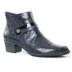 Chaussures femme hiver 2017 - boots Dorking bleu marine