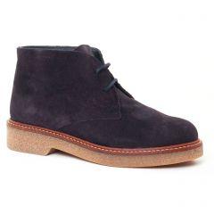 boots bleu marine: même style de chaussures en ligne pour femmes que les Lassitude