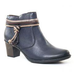 boots bleu marine: même style de chaussures en ligne pour femmes que les Rieker