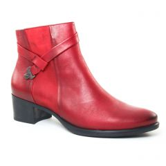 Chaussures femme hiver 2017 - boots Dorking bordeaux