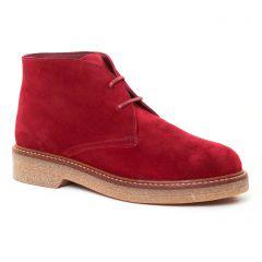 boots bordeaux: même style de chaussures en ligne pour femmes que les Scarlatine