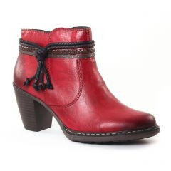 boots bordeaux: même style de chaussures en ligne pour femmes que les Rieker