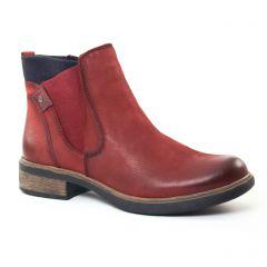 boots-chelsea bordeaux: même style de chaussures en ligne pour femmes que les Carmela
