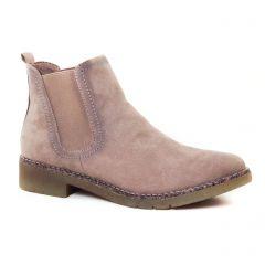 boots-chelsea beige: même style de chaussures en ligne pour femmes que les Scarlatine