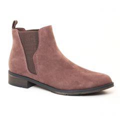 Chaussures femme hiver 2017 - boots élastiquées marco tozzi beige taupe