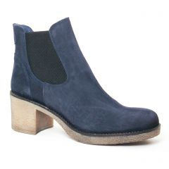 Chaussures femme hiver 2017 - boots élastiquées PintoDiBlu by CostaCosta bleu marine