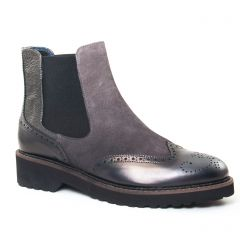 Chaussures femme hiver 2017 - boots élastiquées PintoDiBlu by CostaCosta gris