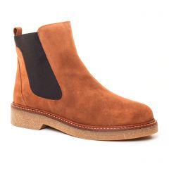 boots-chelsea marron: même style de chaussures en ligne pour femmes que les Fugitive